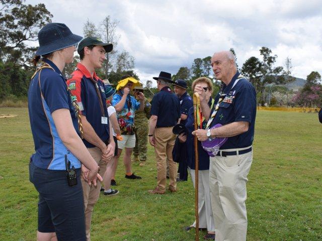 National President John Pearn Queensland Agoonoree 2018