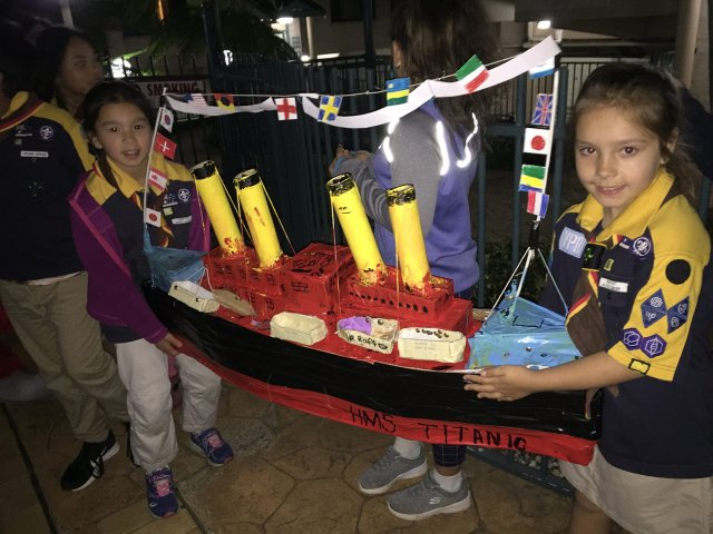 Titanic Night Cubs Special Interest Area