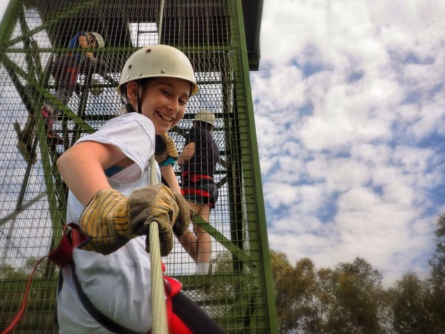 Abseiling Scout Resilience Survey