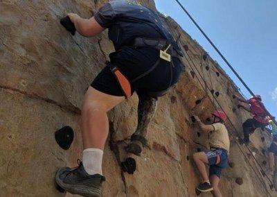 Keegan Rock Climbing