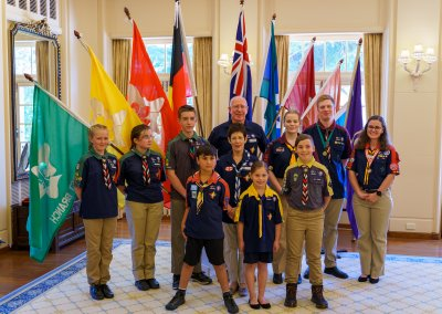 Chief Scout David Hurley Investiture