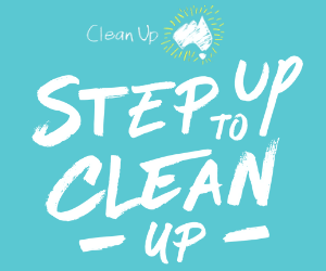 Step up To Clean Up CUAD Graphic