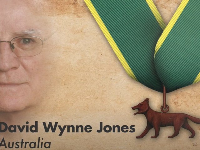 David Jones Bronze Wolf Award
