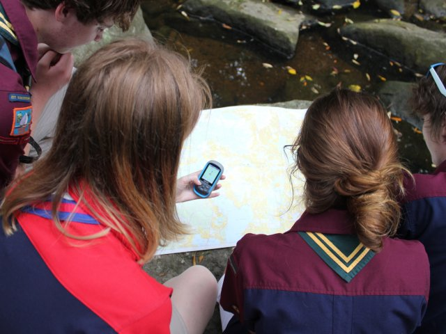 Using Self Isolation Time for Qualifications Scouts With GPS and Map