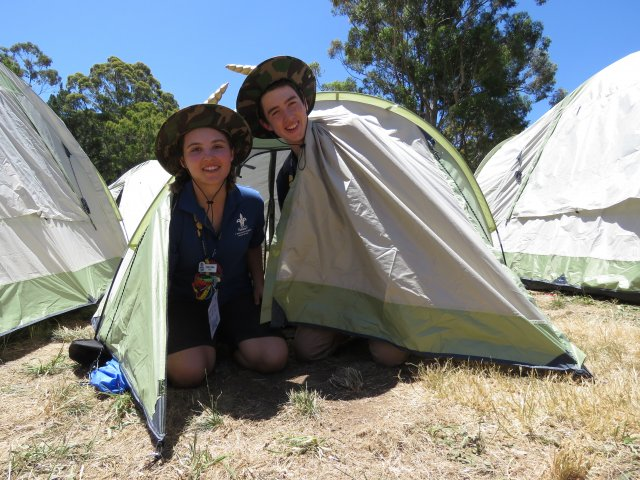 Two Scouts & Tent AJ2019 - When Old Meets New Program