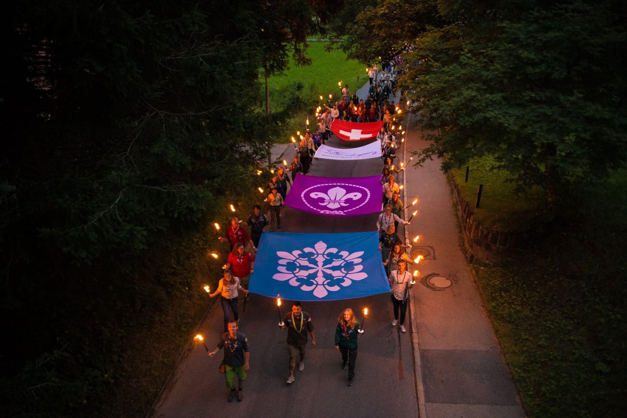 Kandersteg International Scout Centre Street Parade