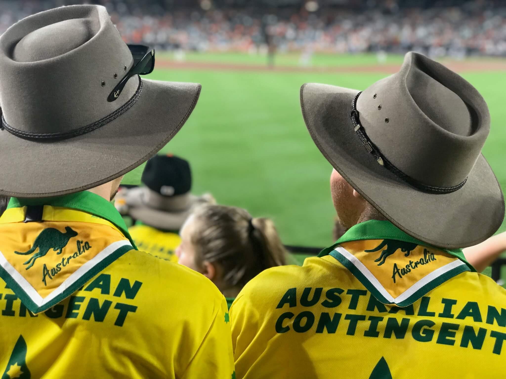 Scouts at AJ2019