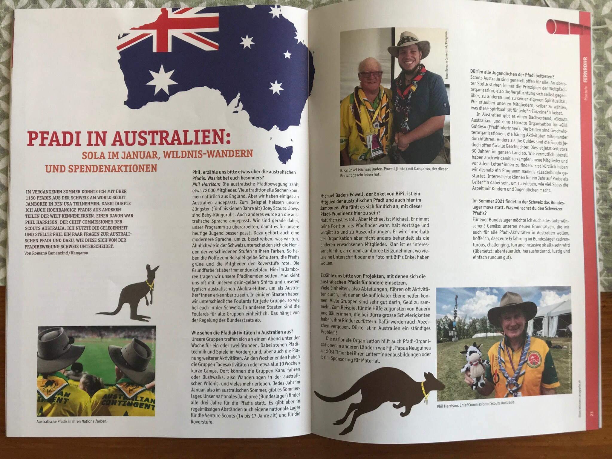 SGSM Magazine Excerpt