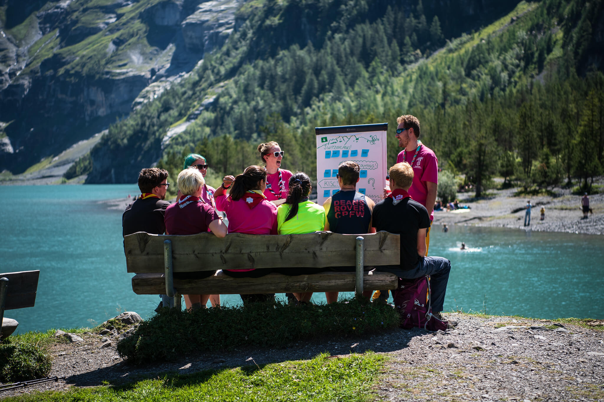 SCENES Guidelines Scouts at Kandersteg