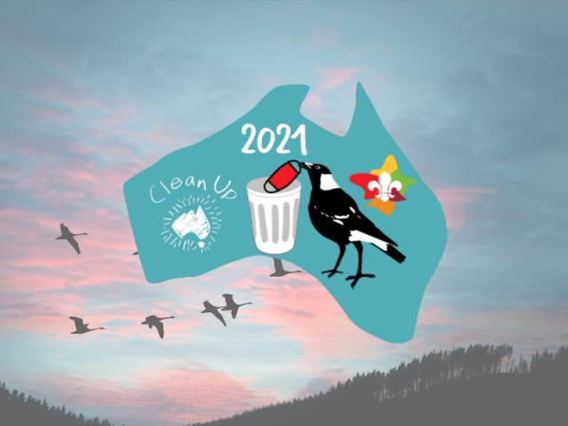 Clean Up Australia Day Badge 2021