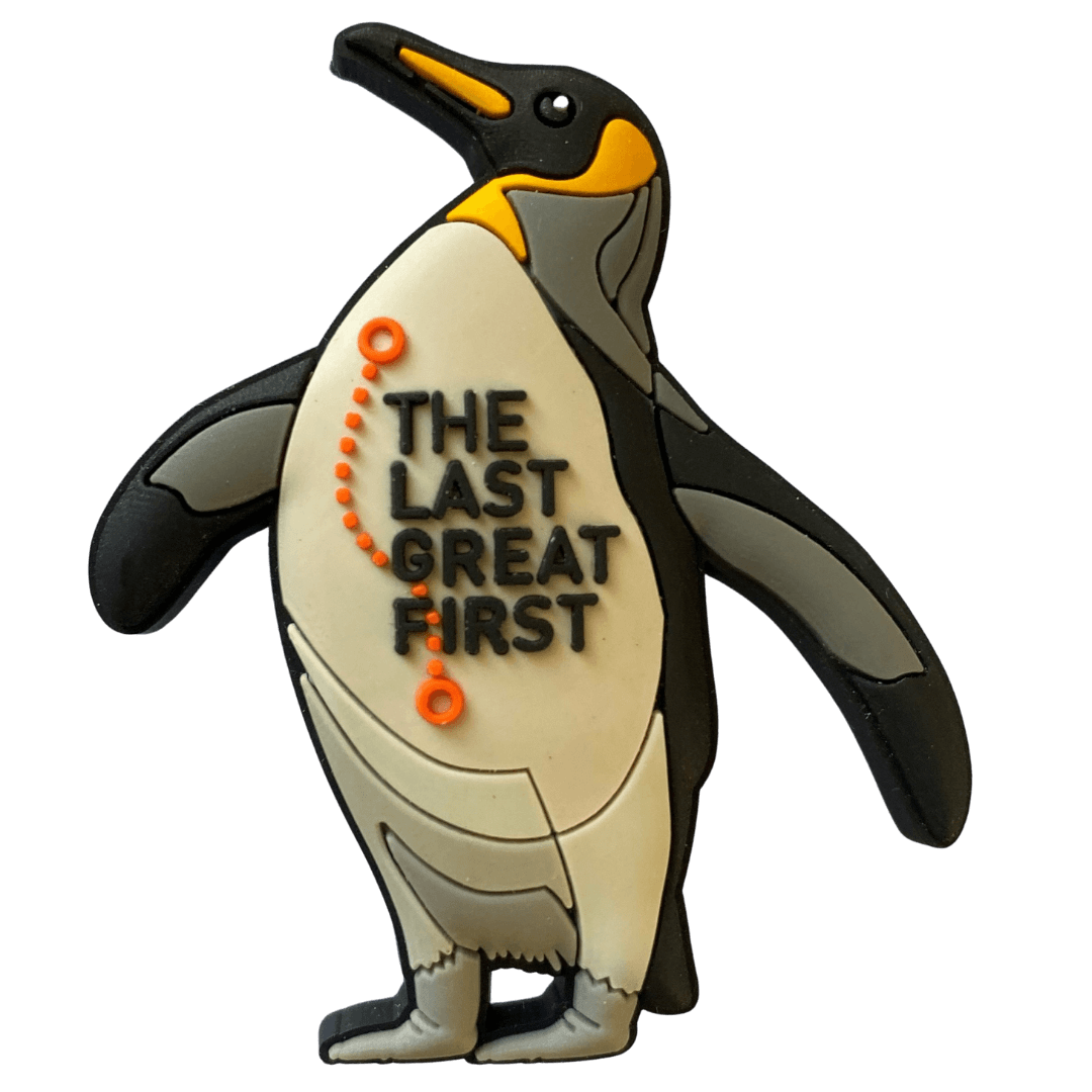 The Last Great First Penguin Woggle