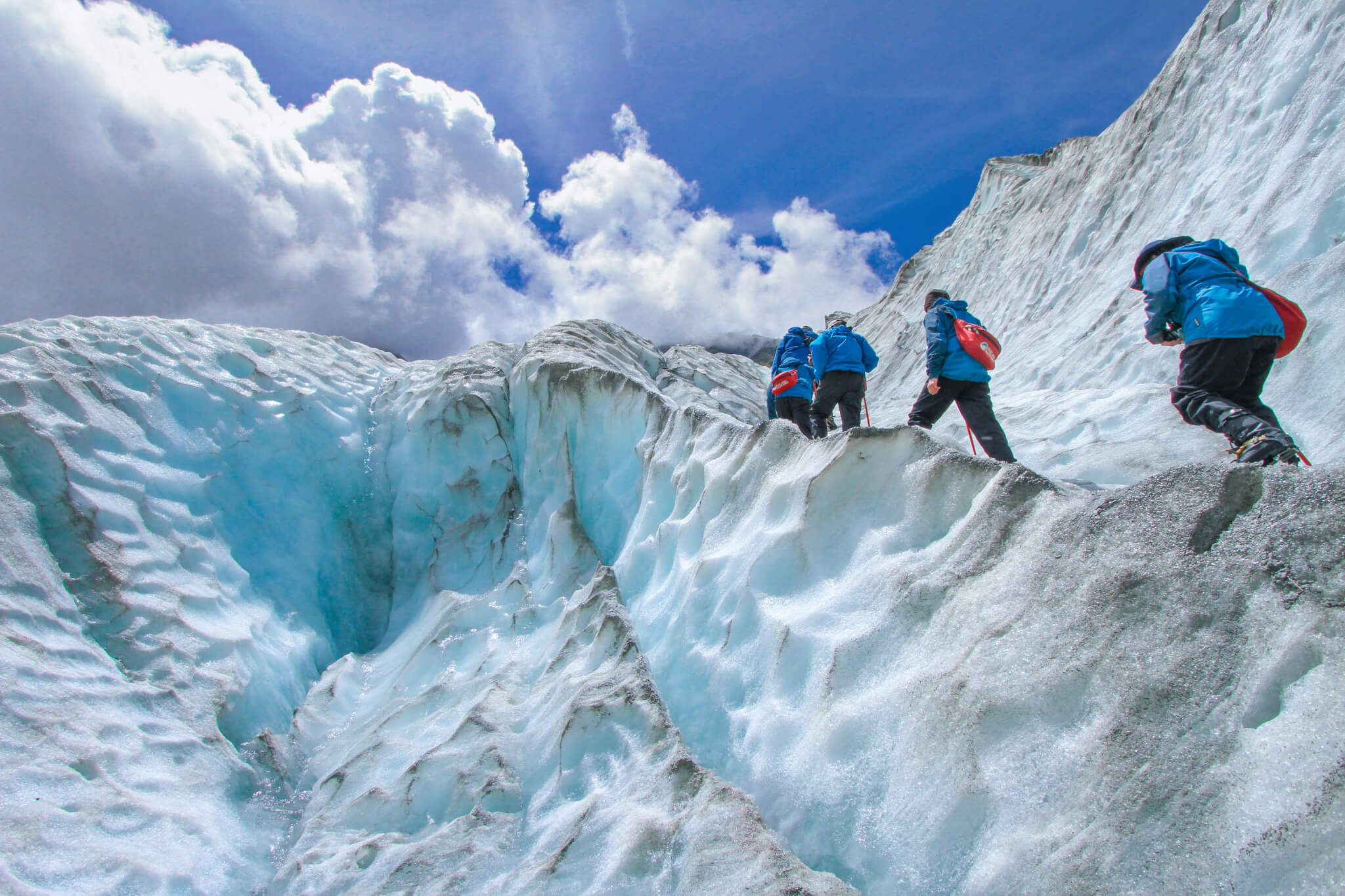 Four Scouts Ice Climbing SAIT Principal