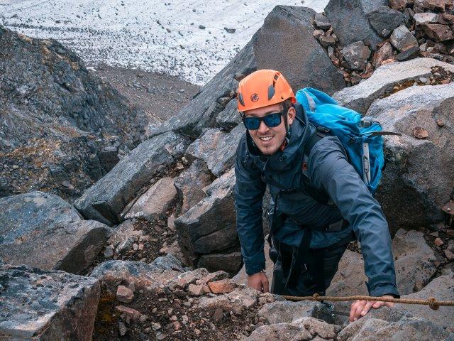 Rover Scout Update June Scout Scrambling in Helmet