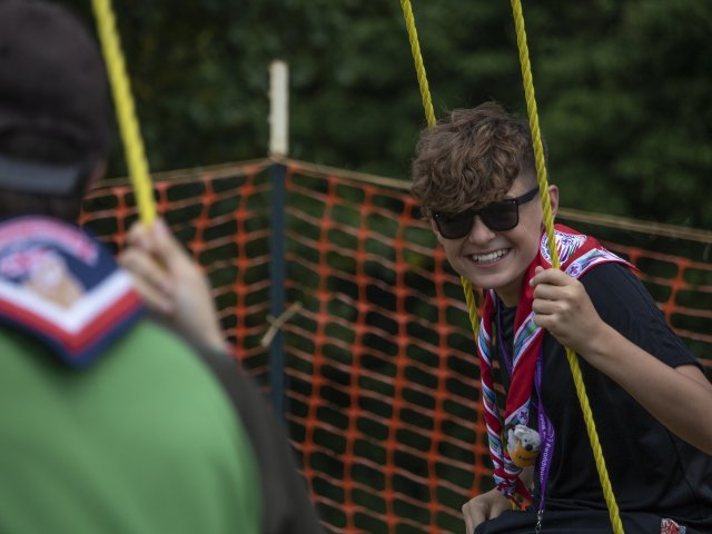 Scout at WSJ2019 on Swing