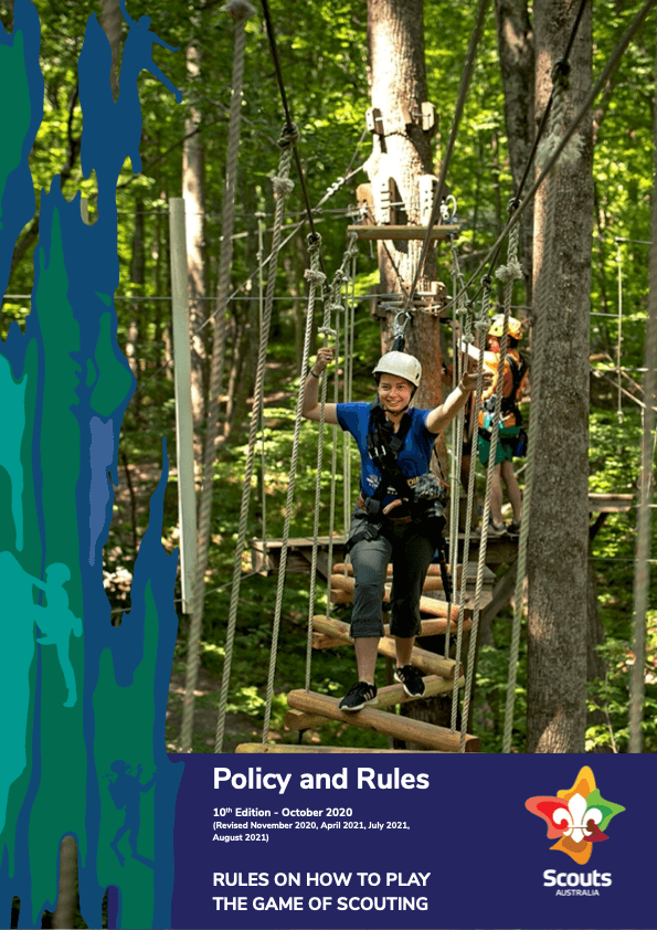 POLICY AND RULES 2020 - 10th Edition (Revised August 2021) Cover Page