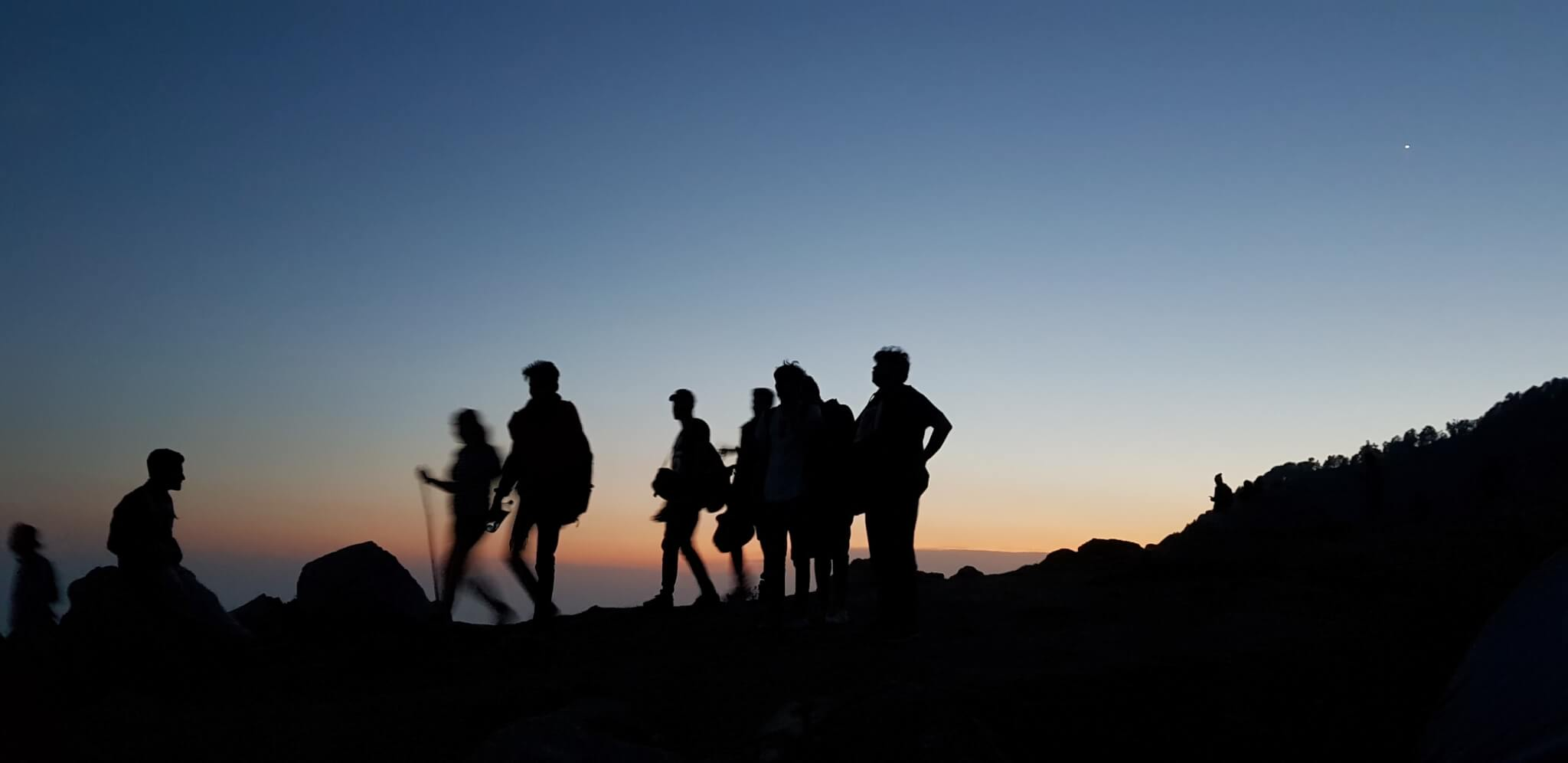 Lord Baden Powell Society September Update Group of Scouts Mountain Hiking