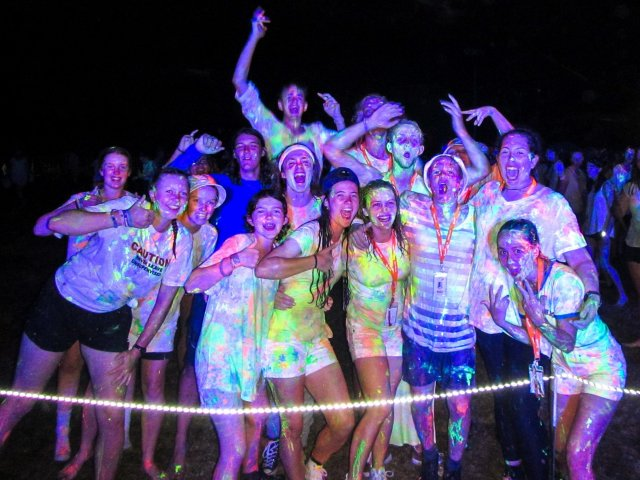 15th New Zealand Venture Scouts at Glow Party